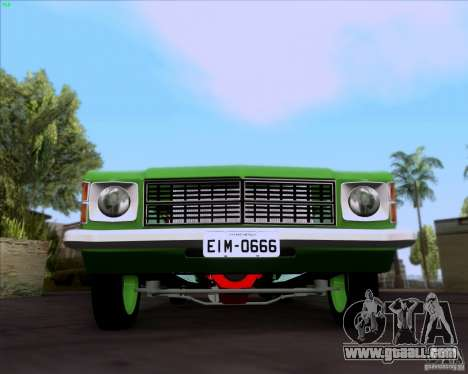 Chevrolet Opala 6CC 1979 for GTA San Andreas left view