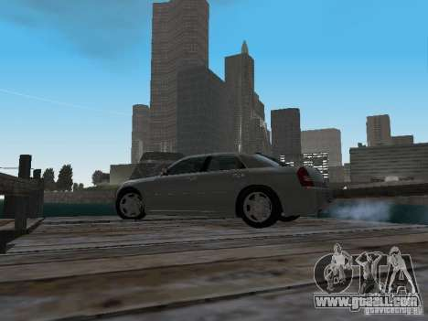 Chrysler 300C HEMI 5.7 2009 for GTA San Andreas inner view