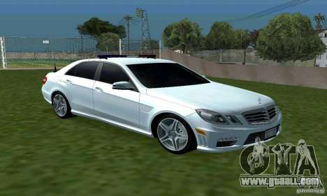 Mercedes-Benz E63 DPS for GTA San Andreas back view