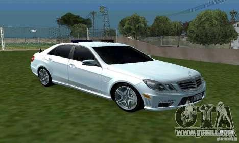 Mercedes-Benz E63 DPS for GTA San Andreas back view