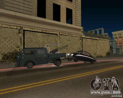 Tempo Matador 1952 Towtruck version 1.0 for GTA San Andreas inner view
