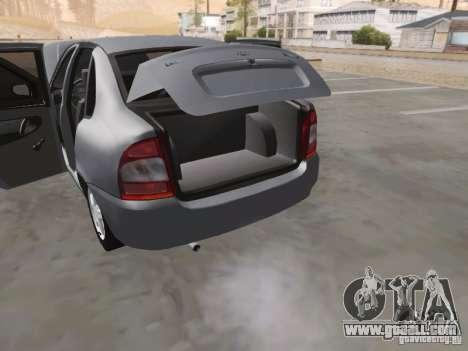 LADA Kalina sedan for GTA San Andreas upper view