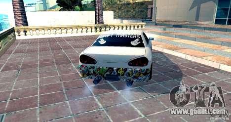 Elegy Drift Masters v0.2 for GTA San Andreas left view