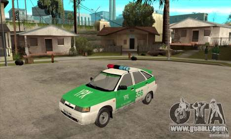 VAZ-2112 YPX Police for GTA San Andreas