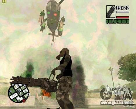 Minigun from Call of Duty Black Ops for GTA San Andreas third screenshot