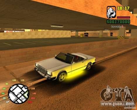 Extreme Car Mod SA:MP version for GTA San Andreas forth screenshot
