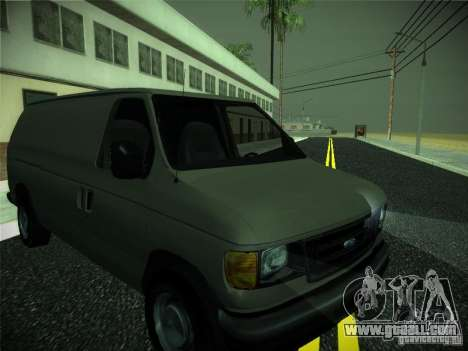Ford E150 2000 for GTA San Andreas left view