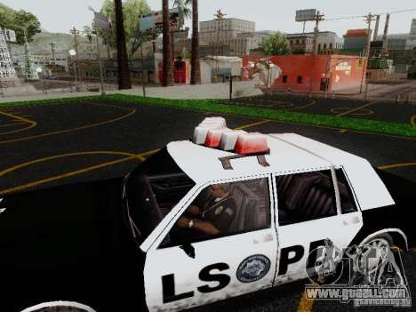 Greenwood Police LS for GTA San Andreas right view