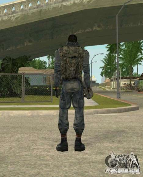 Grouping of Mercenaries from a stalker for GTA San Andreas seventh screenshot