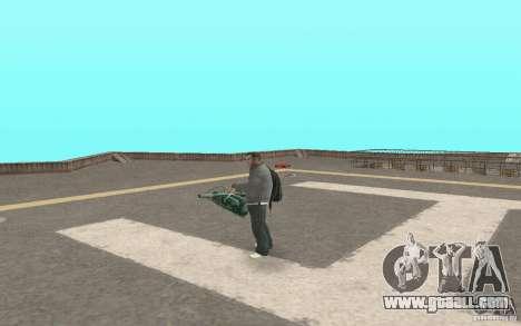 Animation of GTA IV for GTA San Andreas forth screenshot
