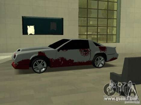Blood on machines for GTA San Andreas third screenshot
