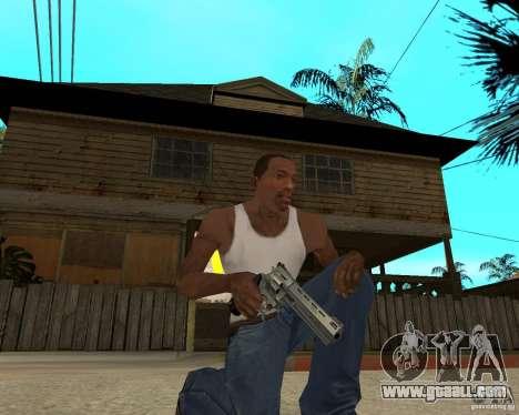 Magnum 22.2 for GTA San Andreas second screenshot
