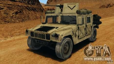 HMMWV M1114 v1.0 for GTA 4