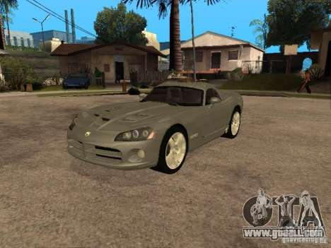 Dodge Viper Coupe 2008 for GTA San Andreas