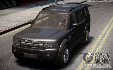 Land Rover Discovery 4 2013 for GTA 4