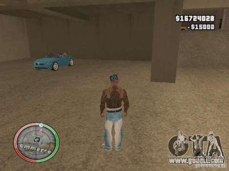 Car shop for GTA San Andreas forth screenshot