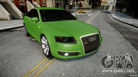 Audi A6 TDI 3.0 for GTA 4 side view
