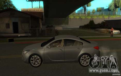 Opel Insignia 2011 for GTA San Andreas left view