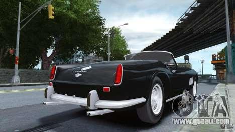 Ferrari 250 California 1957 for GTA 4 left view