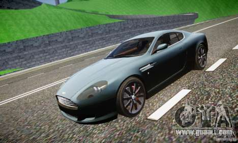 Aston Martin DB9 2005 V 1.5 for GTA 4 interior