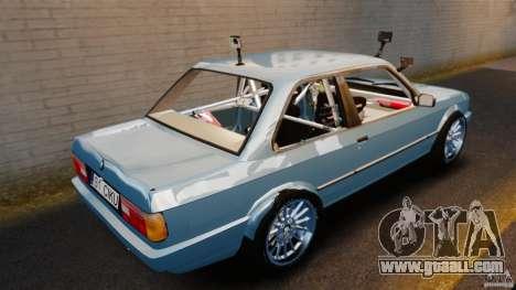 BMW E30 V8 Drift for GTA 4 back left view