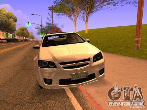 Chevrolet Lumina for GTA San Andreas inner view