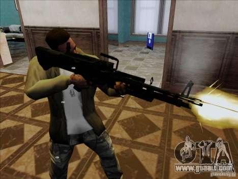 M60E4 for GTA San Andreas second screenshot