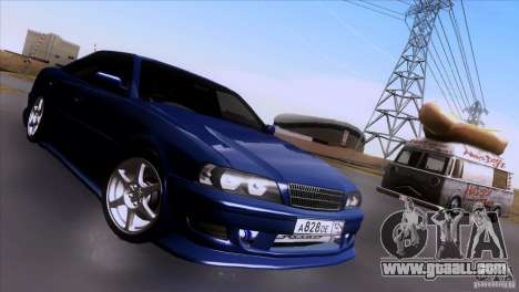Toyota Chaser Tourer for GTA San Andreas right view