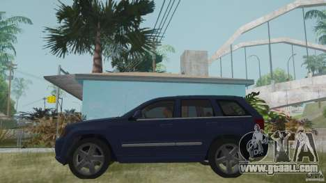 Jeep Grand Cherokee SRT8 2009 for GTA San Andreas back left view