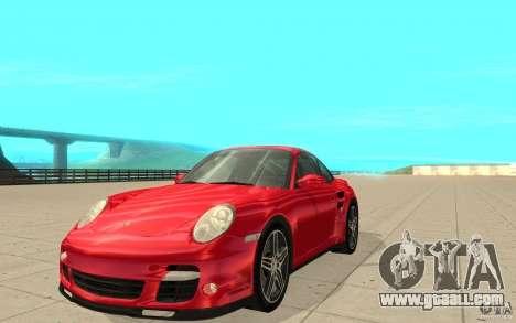 Porsche 911 (997) Turbo v3.0 for GTA San Andreas
