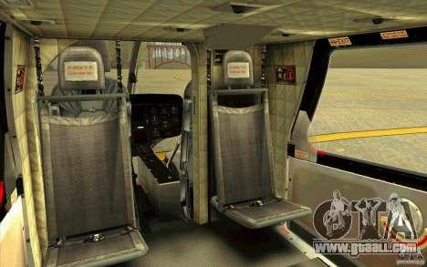 MD 902 Explorer for GTA San Andreas inner view