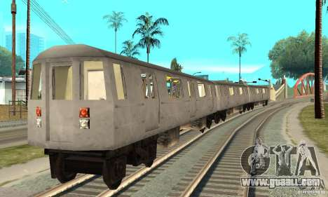 Liberty City Train GTA3 for GTA San Andreas