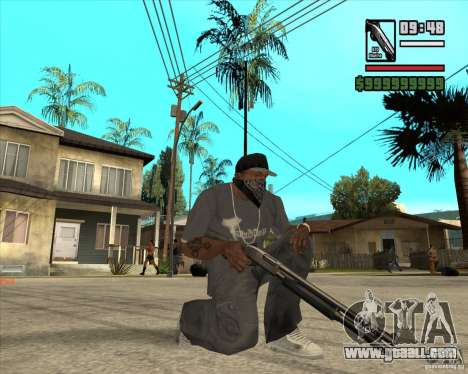 Millenias Weapon Pack for GTA San Andreas third screenshot