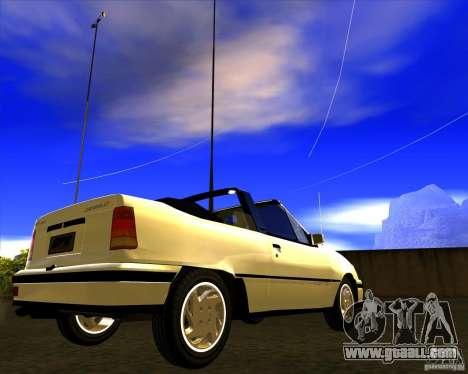 Chevrolet Kadett GSI 2.0 Conversivel (1991-1995) for GTA San Andreas right view