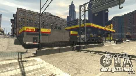Shell Petrol Station for GTA 4 forth screenshot