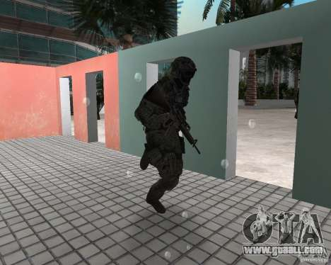 Frost from CoD MW3 for GTA Vice City second screenshot