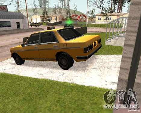 Admiral Taxi for GTA San Andreas left view