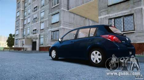 Nissan Versa for GTA 4 left view