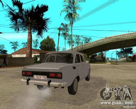 AZLK Moskvich 2140- for GTA San Andreas back left view