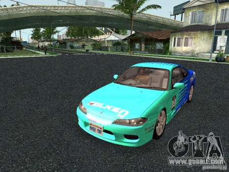 Nissan Silvia S15 Tunable for GTA San Andreas left view