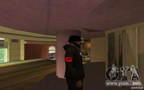 Jacket-Point (G) for GTA San Andreas forth screenshot