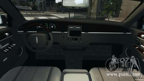 Lincoln Town Car Limousine 2006 for GTA 4 right view
