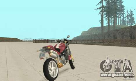 Ducati Monster S4R for GTA San Andreas left view