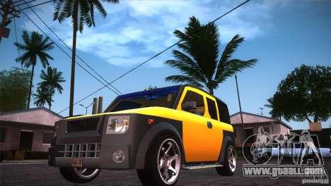 Honda Element LX for GTA San Andreas