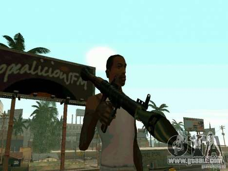 RPG of BF2 for GTA San Andreas second screenshot