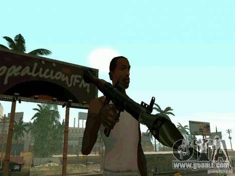 RPG of BF2 for GTA San Andreas second screenshot