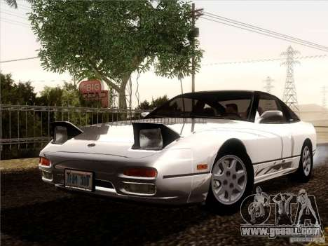 Nissan 240SX S13 - Stock for GTA San Andreas right view