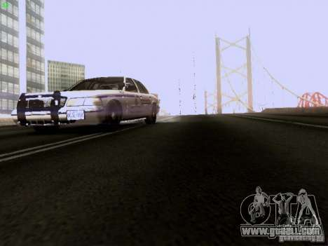 Ford Crown Victoria Canadian Mounted Police for GTA San Andreas side view