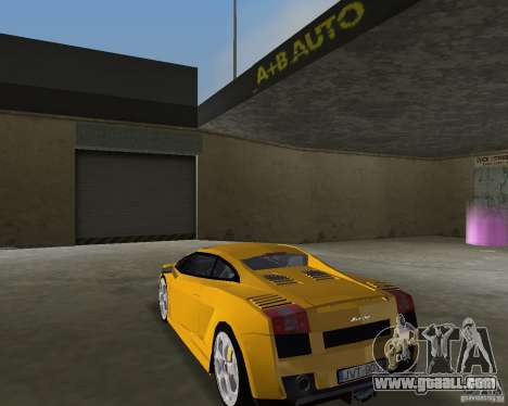Lamborghini Gallardo v.2 for GTA Vice City left view