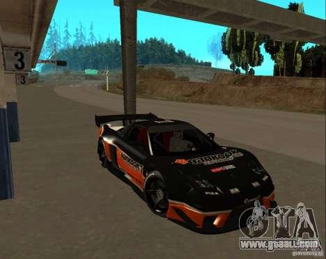 Acura NSX Sumiyaka for GTA San Andreas inner view